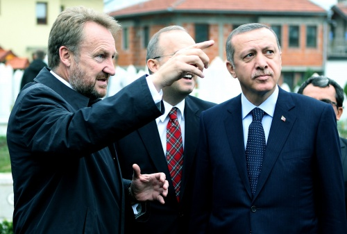 Image result for izetbegović erdogan