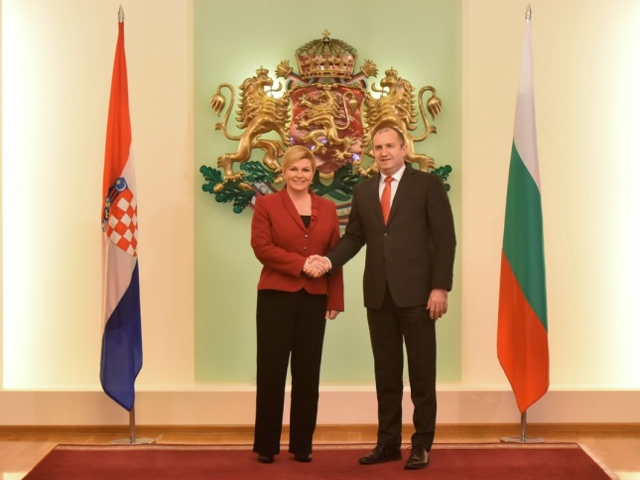 In pictures: President of Croatia Kolinda Grabar-Kitarović