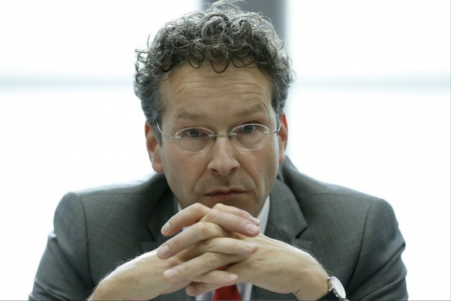 Dutch Finance Minister Jeroen Dijsselbloem is no less tired than other EU officials, and that was yet the beginning of the Eurogroup meeting on Wednesday